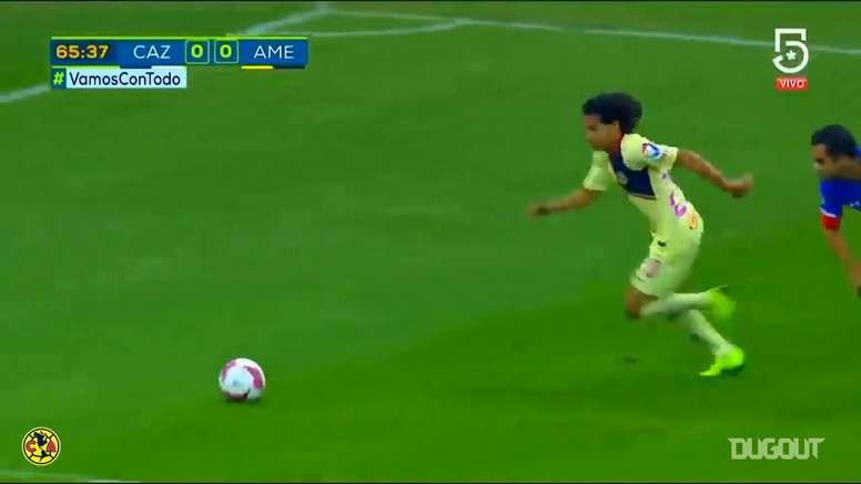 Diego Lainez played for Club America for two years before signing for Real Betis. DUGOUT