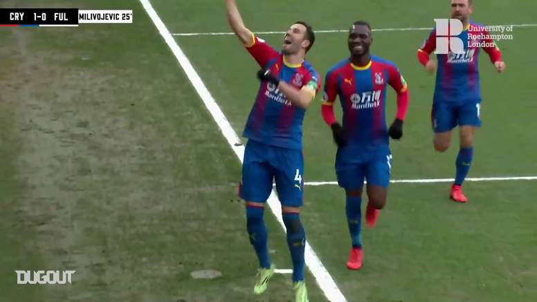 TOP Buts Crystal Palace vs Fulham. DUGOUT