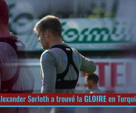 La transformation d'Alexander Sorloth à Trabzonspor. DUGOUT