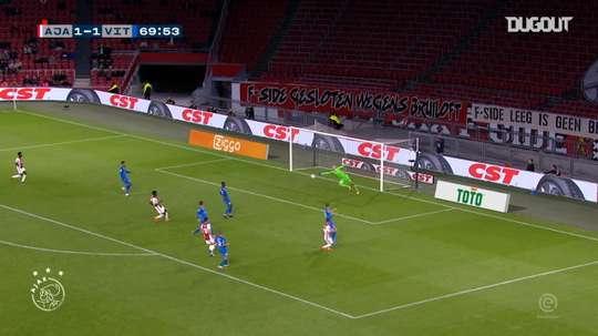 El Ajax ganó con el gol de Antony. DUGOUT