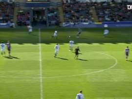 Etebo scored against Blackburn. DUGOUT