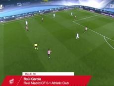 La victoire de l'Athletic Bilbao sur le Real Madrid en Supercoupe d'Espagne. dugout