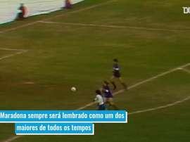 Napoli irá rebatizar estádio com nome de Maradona. DUGOUT