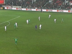 Brandao gave St Etienne the three points at Brest back in 2013. DUGOUT