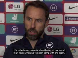 Southgate speaks out. DUGOUT