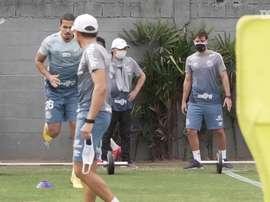 Santos mantém preparação para retorno do Paulistão. DUGOUT