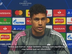Confira a entrevista de Varane. DUGOUT
