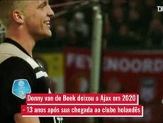 A trajetória de sucesso de Van de Beek. DUGOUT