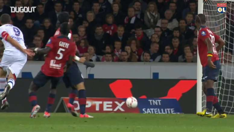 All Lisandro's Lopez goals vs Lille. DUGOUT