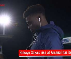 What a player Saka is .DUGOUT
