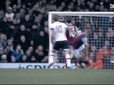 Les buts de Kane contre West Ham. dugout