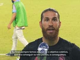 Sergio Ramos marcou um dos gols contra o Real Betis. DUGOUT