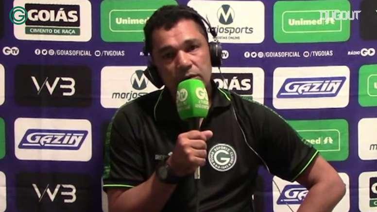 Glauber Ramos fala sobre jogos atrasados no Goiás. DUGOUT