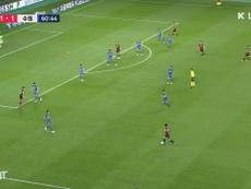 Han Seung-gyu segna un gol fantastico. Dugout