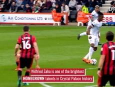 Wilfried Zaha: Crystal Palace's main man. DUGOUT