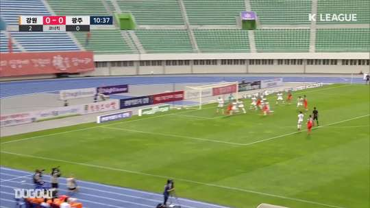 VIDEO: Gangwon turn on the style with 4-1 win over Gwangju. DUGOUT