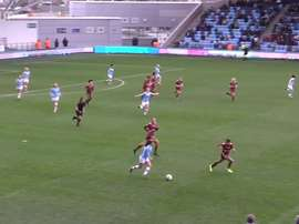 Laura Coombs scored for City. DUGOUT
