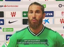 Ramos sempre quer mais. DUGOUT