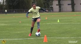 VIDEO: Club América Femenil players in training. DUGOUT