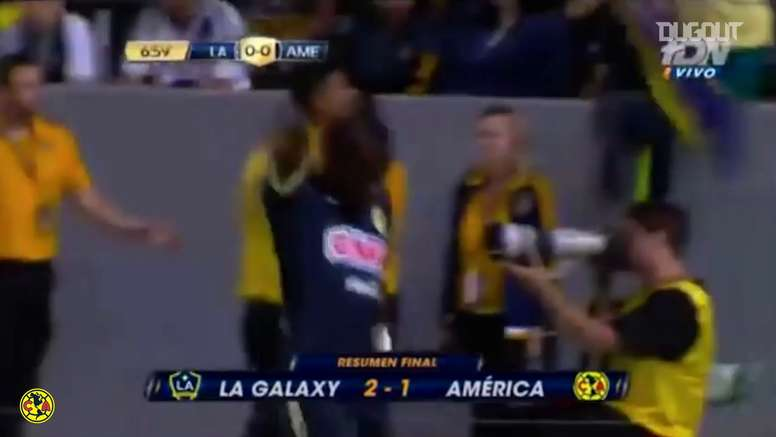 Quintero scored for América. DUGOUT