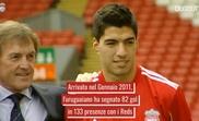 Il meglio di Suarez con il Liverpool. Dugouts