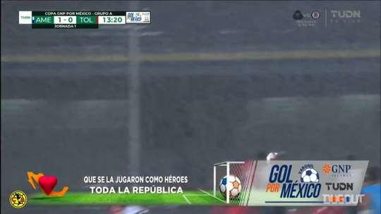 Club América won 2-0. DUGOUT