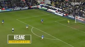 Le meilleur de Keane avec Tottenham. DUGOUT