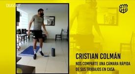 El Barcelona SC sigue entrenándose en casa. DUGOUT