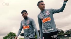 Corinthians faz último treino e viaja para confronto com Sport. DUGOUT