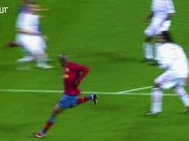Gols do Barcelona contra o Bayern de Munique ao longo dos anos. DUGOUT