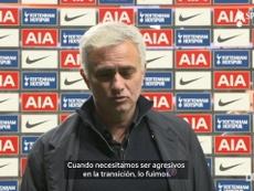 Mourinho habló sobre el triunfo ante el Arsenal. DUGOUT