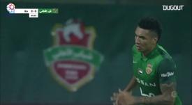 Igor Jesus scored all three games as Shabab Al-Ahli won 3-0. DUGOUT