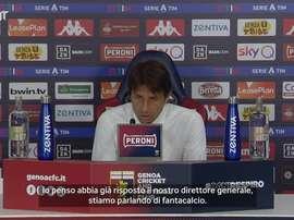 Conte risponde alle voci su Messi. Dugout