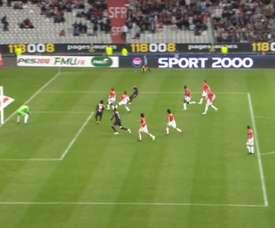 PSG beat Monaco. DUGOUT