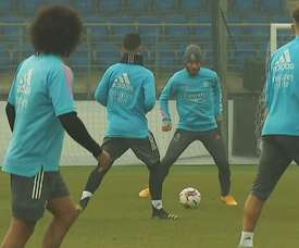 The squad trained again at Real Madrid City. DUGOUT