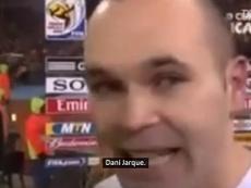 Iniesta se emociona ao decidir final da Copa de 2010. DUGOUT