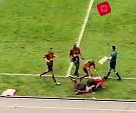 Restrepo marcou um golaço na Colômbia em 2002. DUGOUT