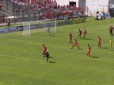 Monaco's last goals vs Nîmes. DUGOUT