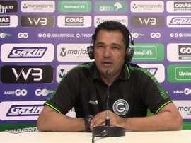 Técnico do Goiás falou após a derrota para o Ceará. DUGOUT