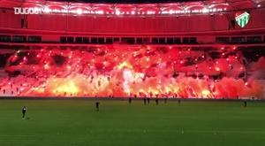 Bursaspor celebra aniversário de 57 anos. DUGOUT