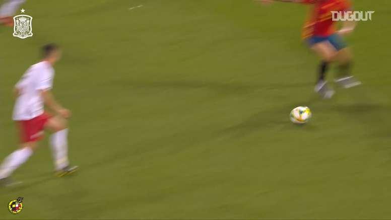 Ceballos scored for Spain u21s. DUGOUT