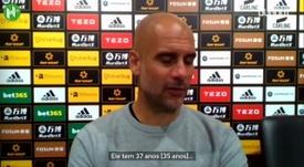 Pep Guardiola foi questionado sobre o papel de Fernandinho no City. DUGOUT