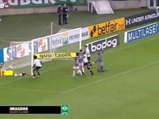 Talles Magno fez o gol do Vasco no clássico contra o Fluminense. DUGOUT
