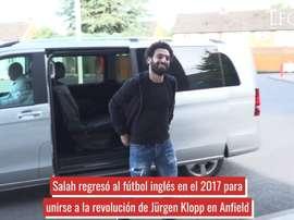 Salah es uno de los grandes referentes del equipo. DUGOUT