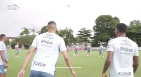 Santos se prepara para jogo contra o Botafogo. DUGOUT