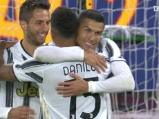 Cristiano Ronaldo got a brace as Juventus drew 2-2 away to Roma. DUGOUT