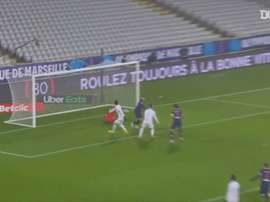 L'ouverture du score de Mauro Icardi face à l'OM. DUGOUT