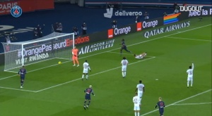 Moise Kean scored in PSG's 2-2 draw with Bordeaux. DUGOUT