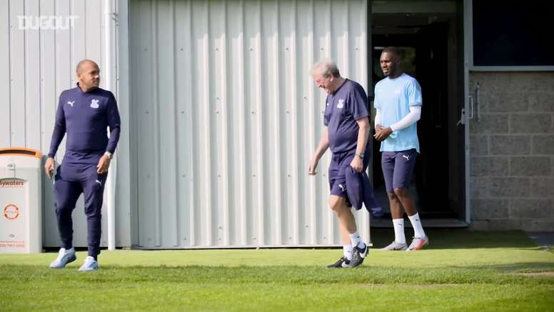 Clyne has been seen training with Crystal Palace