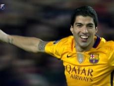 Suárez's goals against his new team. DUGOUT